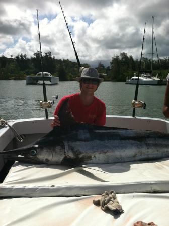 Captain Don's Sportfishing : My Son's first Marlin!