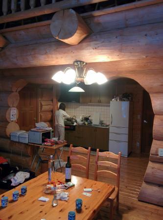 Hakuba Canadian Lodge: kitchen