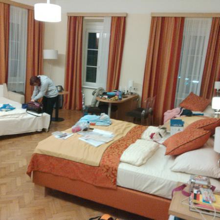 Hotel Drei Raben: La camera in cui eravamo allogiati
