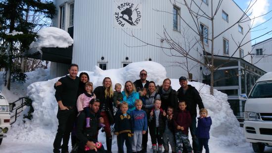 Penke Panke Lodge : The Crew at Penke Panke
