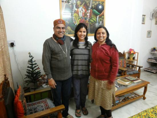 Sri Radha Krishna Kunj: family