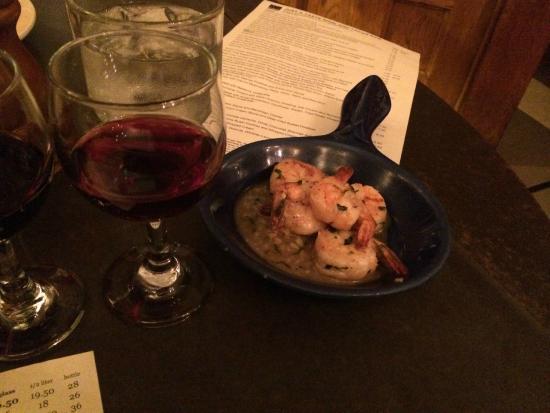 Just a Taste: saute shrimp sherry garlic