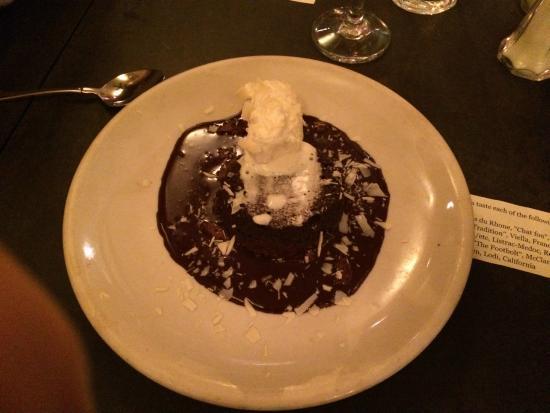 Just a Taste: chocolate dessert
