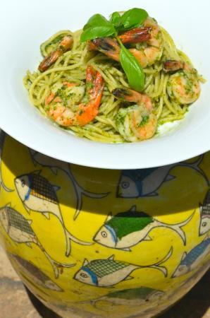 Fortaleza: Prawn Spaghettie