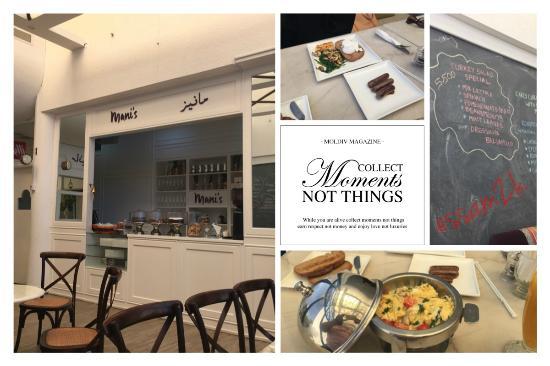 Mani's Gourmet Cafe : Mani's