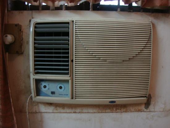 Hotel Subhash: AC in the room - it still worked ;)