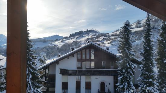 Hotel Bellaval: room with a view
