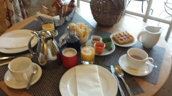 Hotel du Clos: Petit déjeuner