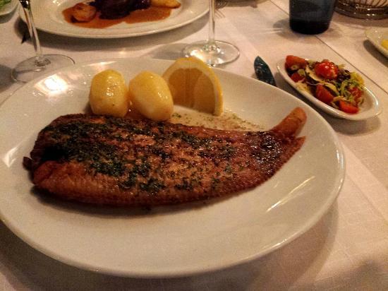 Restaurant Rivoli: sole meunière