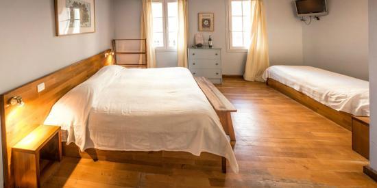 Le Porquerollais: chambre