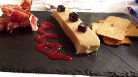 Inca : Cena 16-01-2015: Lingote de Foie-Turrón e Ibérico