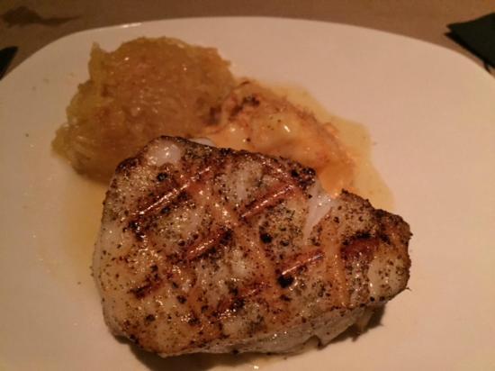 Bonefish Grill: Seabass grelhado