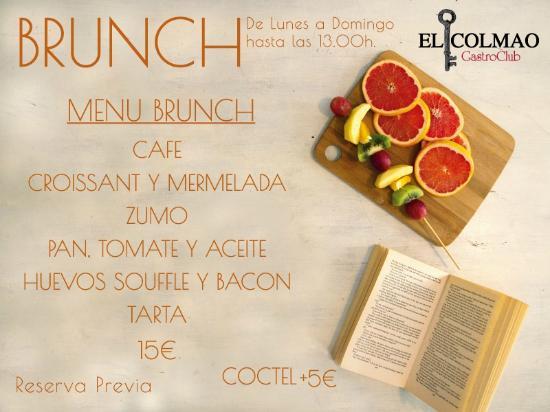 El Colmao GastroClub : Nuevo Brunch