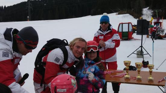 Ellmau, Austria: Final race for children