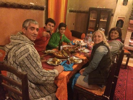 Riad Ouzine: Una cena fantastica