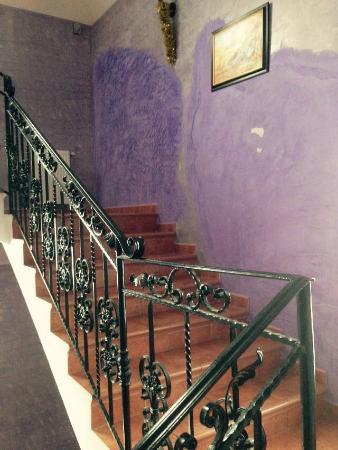 Pensiunea Casa Dunarea: The loby.