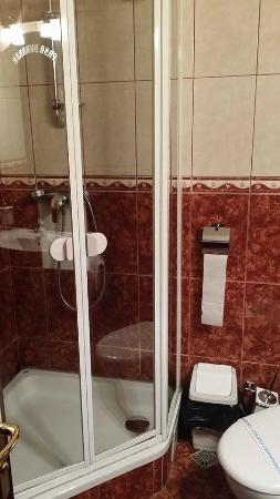 Pensiunea Casa Dunarea: The bathroom.