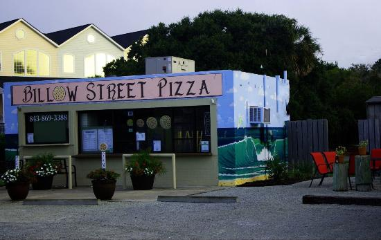 Billow Street Pizza: Billow building