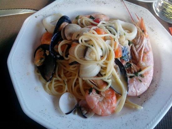 Smile Terraza del Mar: spaghetti ai frutti di mare