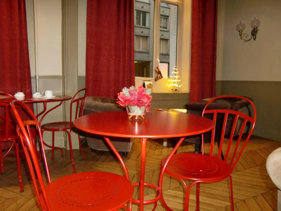 Perreyve Hotel : sala colazione