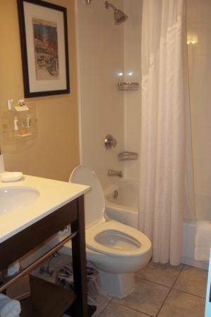 Holiday Inn Forest Park: Bathroom was clean. Plenty of room. Nice decor.