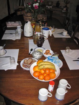 La Marechalerie: Breakfast