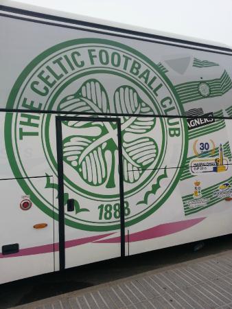 MRC Maspalomas Resort: Glasgow Celtic FC in Maspalomas