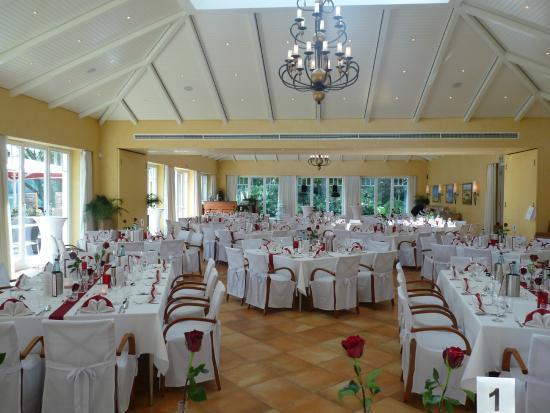 Hochzeitsfeier Im Festsaal Picture Of Restaurant Leuchtturm