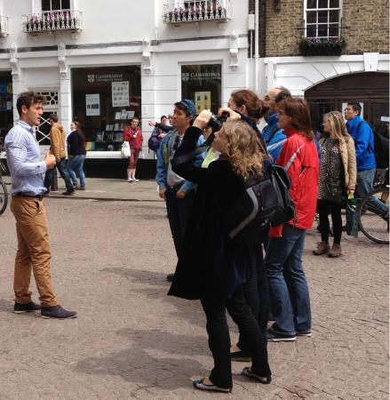 Oxbridge Tours Cambridge: Out on Tour