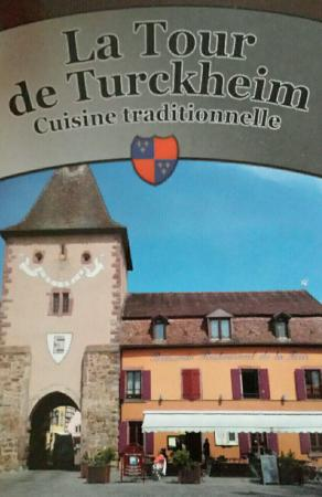 Restaurant de la Tour : Direkt neben dem Stadtturm von Turckheim.