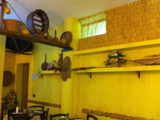 Antico Borgo: Sala interna