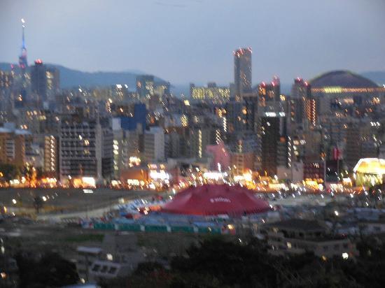 Agora Fukuoka Hilltop Hotel & Spa: 夕暮れの景色