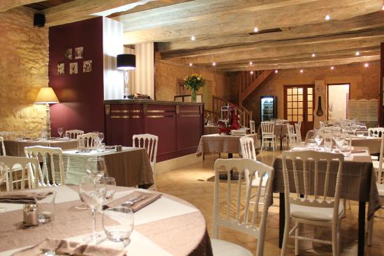 Les terrasses de Lascaux: La salle de restaurant
