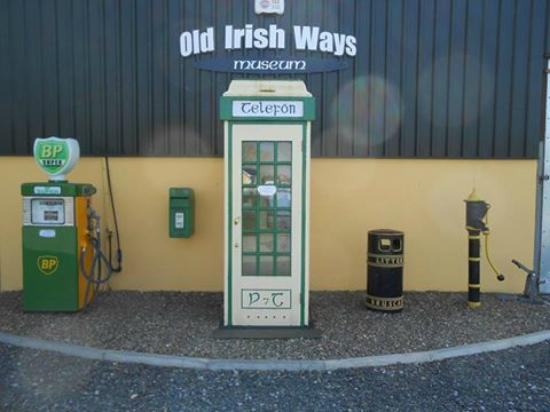 Bruff, Ireland: Old Irish Ways Museum Front