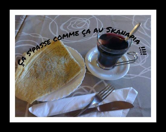 Restaurant Le Skanapia Dans Aime Avec Cuisine Fran Aise