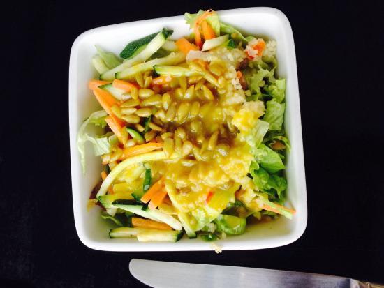 Restaurant Franchipani: Merveilleuse salade