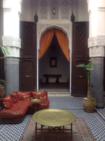 Riad Tayba: Beautiful entrance