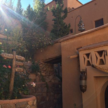 Il sole invernale scalda le mattine di Chez Pierre