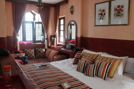 Villa Maroc: ภายในห้องพัก