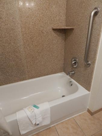 Vanity in bathroom - Picture of MainStay Suites Texas Medical Center ...