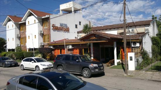 Hotel Sierrasol: Hall de entrada