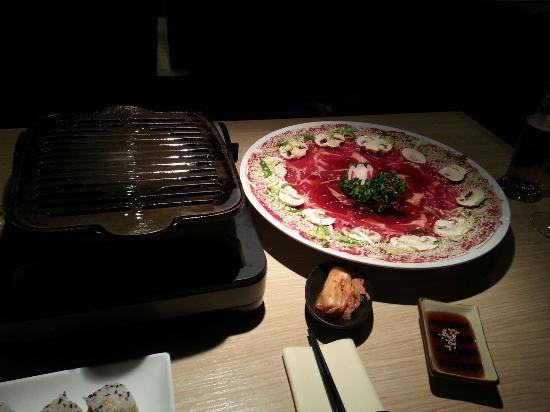 Seito Restaurant Sushi & Grill : La grillade