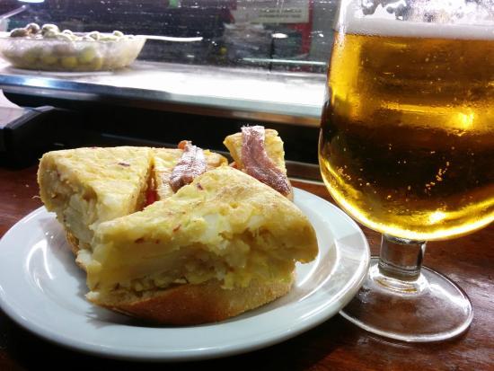 Bar Erzo: Pinchos de tortilla