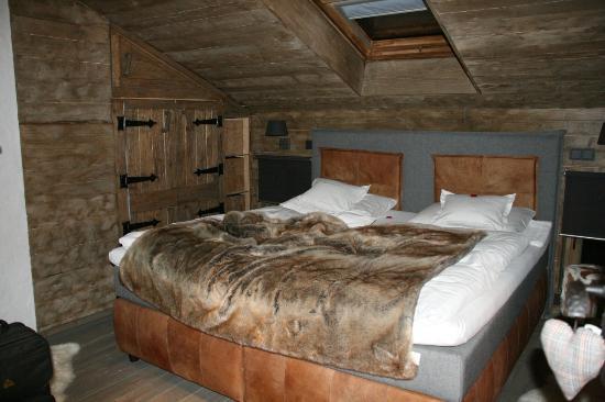 Relais-Chalet Wilhelmy: Haupt-Schlafzimmer Alm-Chalet