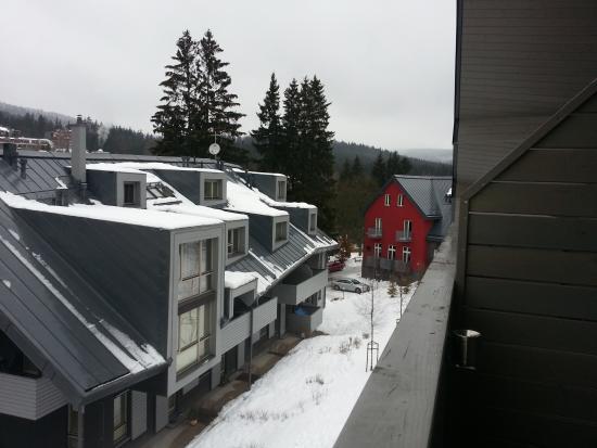 Resident Resort Harrachov: resident widok na budynek A