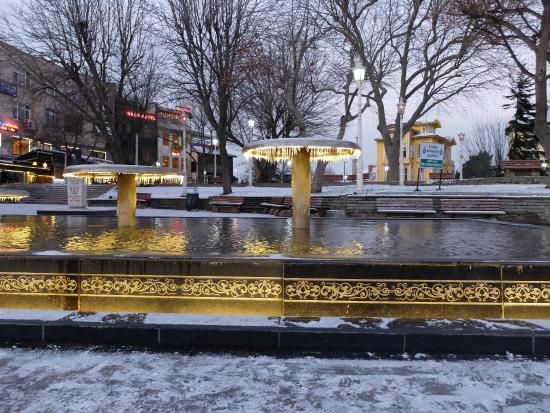 Istanbul Amedros Home: фонтан