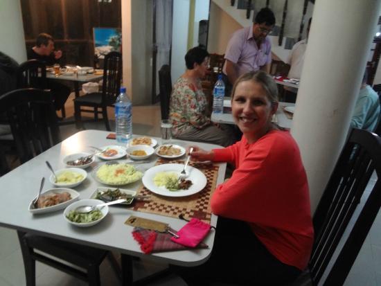 St Bridget's Guest House: Dinner