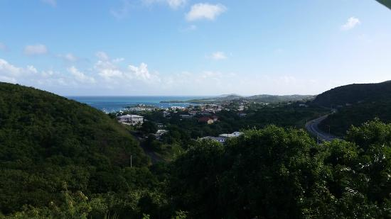 Carringtons Inn St. Croix: View from common area balcony
