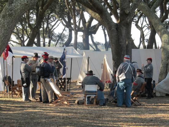 Fort Fisher State Historic Site: Army Camp