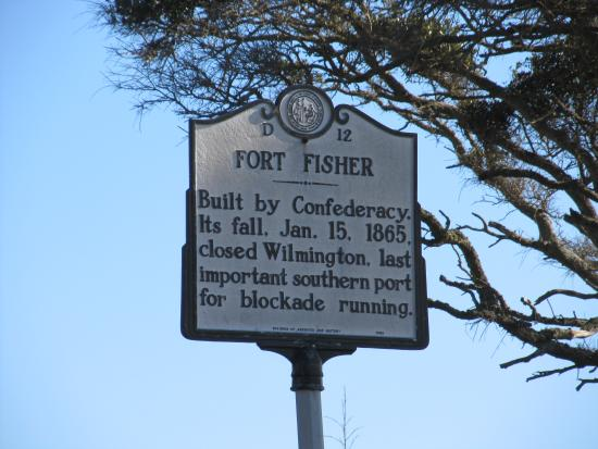 Fort Fisher State Historic Site: Historic Sign